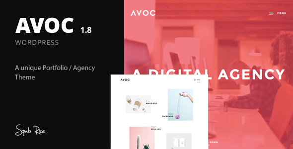 Avoc WordPress Theme