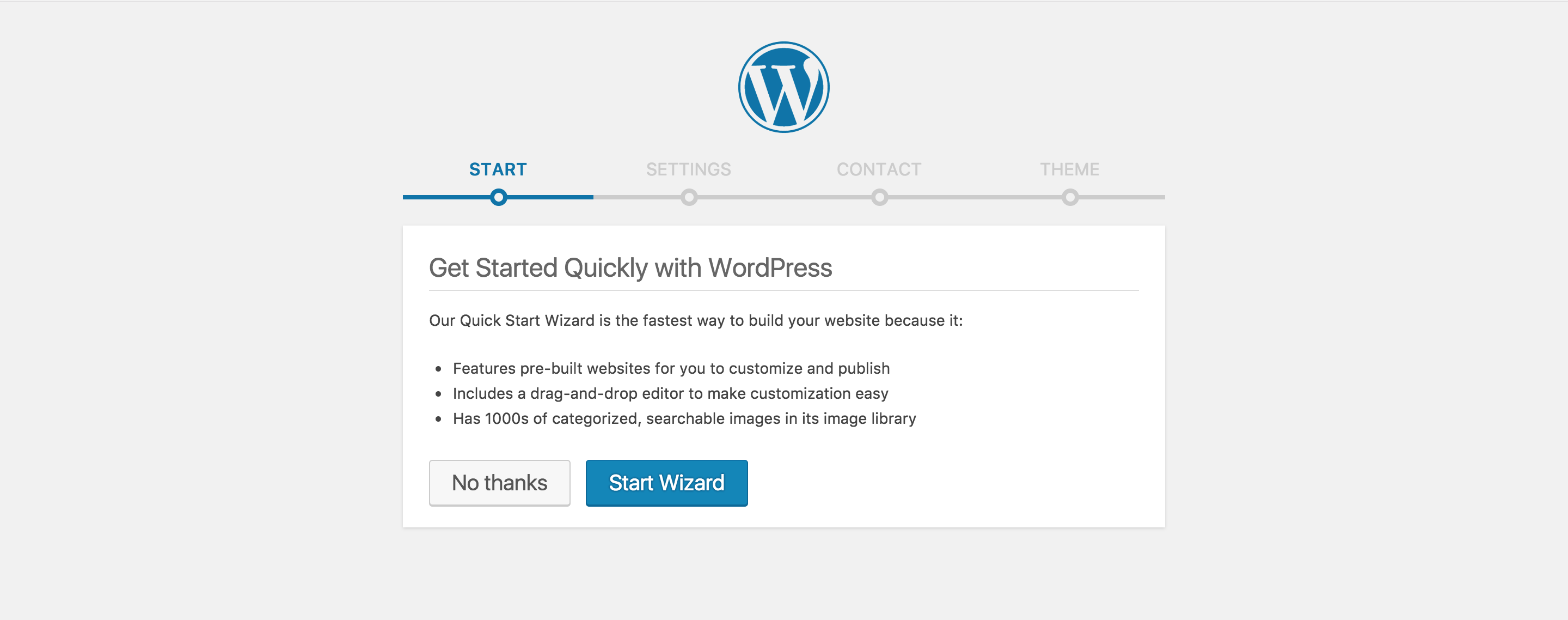 Set WordPress