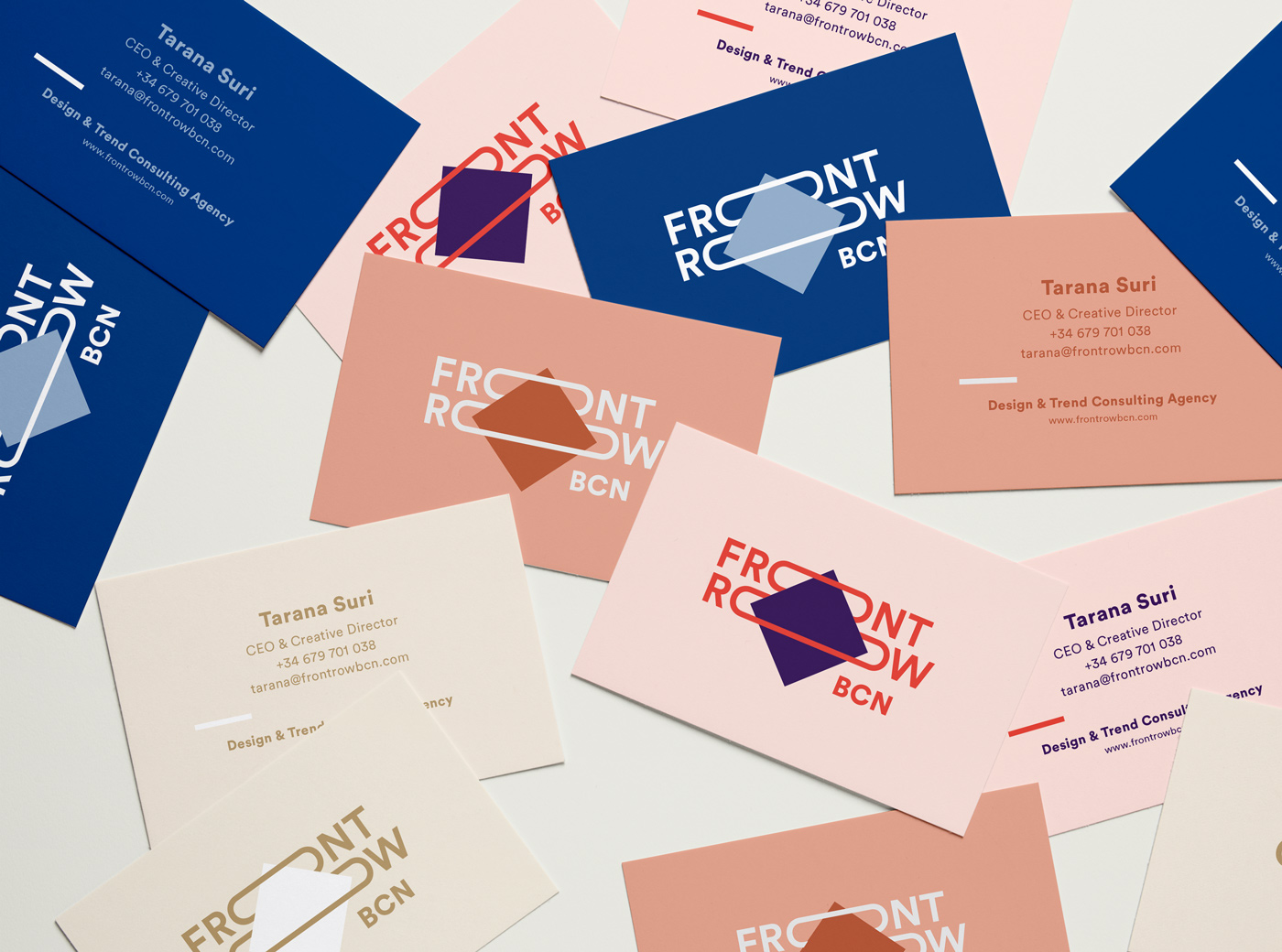 FrontRow Business Cards